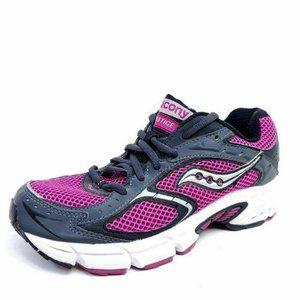 Saucony Prestige Womens 6 Running Shoes Purple